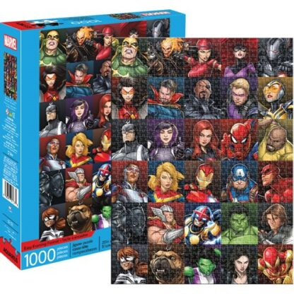 Marvel Heroes Collage 1000 pc Puzzle