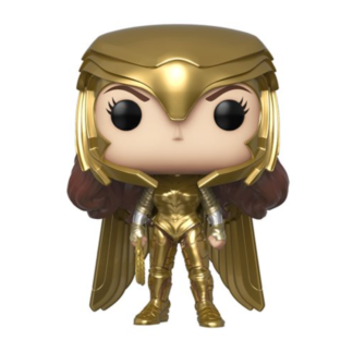 Wonder Woman 1984 Gold Power Metallic Pop! Vinyl Figure